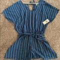 Michael Kors Swim   Michael Kors Cover Up   Color: Blue   Size: M