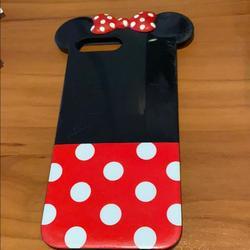Disney Accessories | Mimi Mouse Phone Case For 7 Plus 8 Plus | Color: Black/Red | Size: 7 Or 8 Plus Iphone