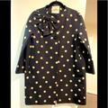 Kate Spade Jackets & Coats | Kate Spade Rainover Coat | Color: Black/White | Size: Xs