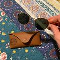 Ray-Ban Accessories   Ray Ban Sunglasses ( Women)   Color: Black/Gold   Size: Os