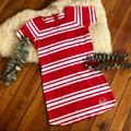 Michael Kors Dresses   Nwtmichael Kors Striped True Red Summer Dress   Color: Red/White   Size: S