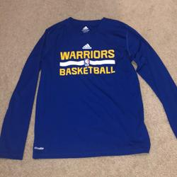 Adidas Shirts & Tops | Boys Youth Adidas Golden State Warriors | Color: Blue/Yellow | Size: Boys Youth M(1012)