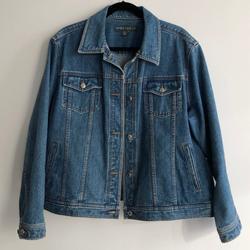 Ralph Lauren Jackets & Coats | Lauren Jeans Co.By Ralph Lauren Denim Jean Jacket | Color: Blue | Size: 2x