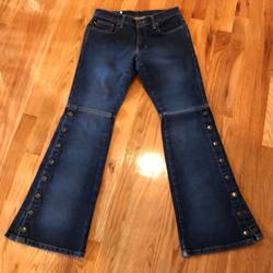 Ralph Lauren Jeans | Polo Jeans Co Jeans With Snaps | Color: Blue | Size: 4
