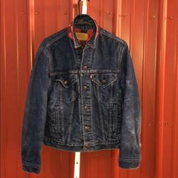 Levi's Jackets & Coats | Levis |Vintage Trucker Denim Jacket Buffalo Plaid | Color: Tan | Size: M