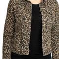 Nine West Jackets & Coats | Nine West Denim Sarah Jacket Ladies Size S | Color: Black/Brown | Size: S