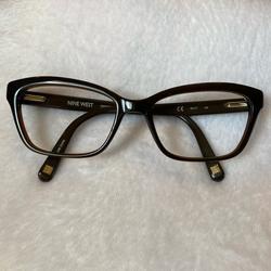 Nine West Accessories | Nine West Nw5060 Eyewear Frame | Color: Brown | Size: 52-17-135