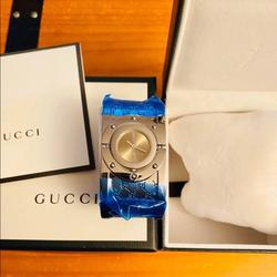 Gucci Accessories | Authentic Gucci Womens Watchbangle | Color: Brown/Silver | Size: Os