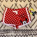 Disney Bottoms | Disney Girls Minnie Mouse Red Polka Dot Shorts | Color: Red/White | Size: Mg