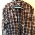 Carhartt Shirts   Carhartt Men'S Work Shirt Xxl Tall   Color: Brown/Tan   Size: 2xl Tall