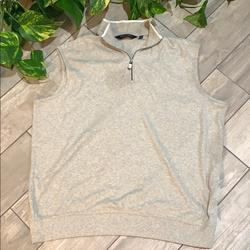Polo By Ralph Lauren Sweaters | Polo Golf Grey Vest Size Xl Mens | Color: Gray/White | Size: Xl