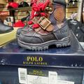 Polo By Ralph Lauren Shoes | Kids Polo Boots | Color: Brown/Red | Size: 4b