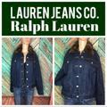 Ralph Lauren Jackets & Coats | Faux Fur Lauren Jeans Co. Ralph Lauren Jacket | Color: Blue/Brown | Size: S