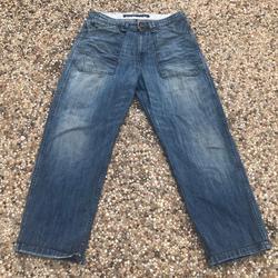 Polo By Ralph Lauren Jeans | Polo Jeans Co Ralph Lauren Fairchild Utility Jeans | Color: Blue | Size: 34x30