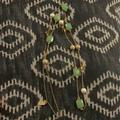 Kate Spade Jewelry | Extra Long Necklace 28 Inches By Kate Spade | Color: Gold/Green | Size: 28 Inches