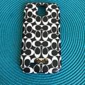 Coach Accessories   Coach Samsung Galaxy S4 Cell Phone Case   Color: Black/White   Size: Os
