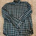 J. Crew Shirts | Jcrew Green Plaid Button Down | Color: Blue/Green | Size: Xl