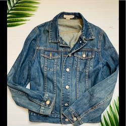 J. Crew Jackets & Coats   J. Crew Denim Jacket   Color: Red   Size: S