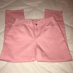 Ralph Lauren Jeans   Lauren Jean Company Ralph Lauren Pink Crop Ankle 6   Color: Pink   Size: 6p