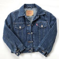Levi's Jackets & Coats   Levi'S Denim Jean Jacket Girls Small (8-10)   Color: Blue   Size: Sg