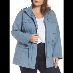Levi's Jackets & Coats | Levi'S Zip Front Twill Womens Jacket | Color: Blue | Size: 3x