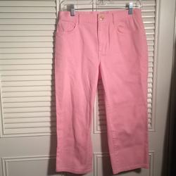 Ralph Lauren Jeans   Jeans Ralph Lauren Size 6-8, Denim Cropped Jeans!   Color: Pink   Size: 6