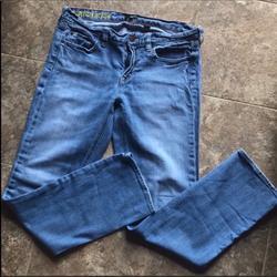 J. Crew Jeans | J.Crew Matchstick Light Blue Denim Jeans 29 S | Color: Blue | Size: 29
