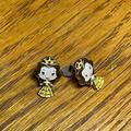Disney Jewelry   Disney Princess Belle Stud Earrings   Color: Gold   Size: Os