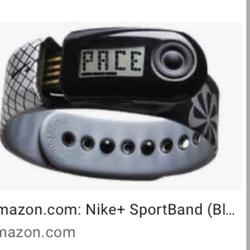 Nike Accessories | Nike + Sportband Running Watch Tracker | Color: Black/Gray | Size: Os