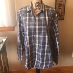 J. Crew Shirts | J. Crew Mens Button Down Shirt J Crew | Color: Blue/Gray | Size: Xl