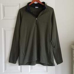 Columbia Jackets & Coats | Columbia Xxl Green Fleece Inside Light Jacket | Color: Green | Size: Xxl