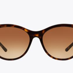 Burberry Accessories | Lightly Used Burberry Tortoise Frame Sunnies | Color: Brown/Tan | Size: 58-17
