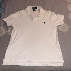 Polo By Ralph Lauren Shirts | Polo Shirt Sleeve Collard Shirt | Color: White | Size: M