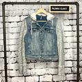 Free People Jackets & Coats | Free People Denim Jacket Sz S | Color: Blue/Gray | Size: S