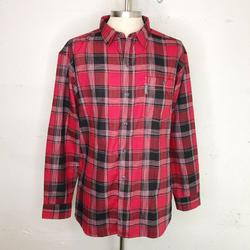 Columbia Shirts | Columbia Men'S Redblack Plaid Checkered Button Up | Color: Red | Size: Xxl