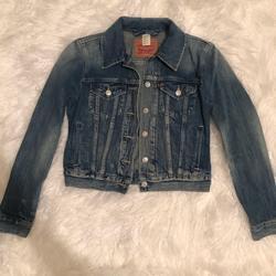 Levi's Jackets & Coats | Levis Denim Jean Trucker Jacket | Color: Blue | Size: S