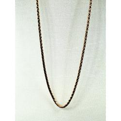 J. Crew Jewelry   J. Crew Copper Color Long Chain Necklace   Color: Gold/Pink   Size: Necklace Drop: 23