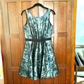 Jessica Simpson Dresses | Jessica Simpson Black Layered Floral Dress | Color: Black/Gray | Size: 2