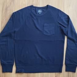 J. Crew Shirts   J. Crew Crewneck Pocket Sweatshirt   Color: Blue   Size: S