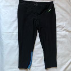 Nike Pants & Jumpsuits | Nike Dri Fit Capri Sz M | Color: Black | Size: M
