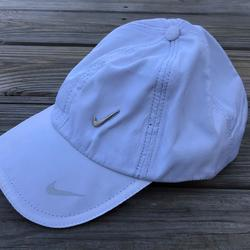 Nike Accessories   Nike Men Hat Cap White Sport Cap Baseball Hat One   Color: White   Size: Os