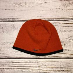 Nike Accessories | Nike Orange & Black Beanie | Color: Black/Orange | Size: Os