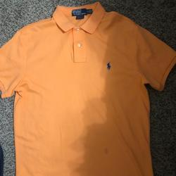 Polo By Ralph Lauren Shirts   Polo Shirt Bundle Two Polo Shirts $20   Color: Orange   Size: M