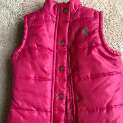 Polo By Ralph Lauren Jackets & Coats | Polo Girls Pink Puffer Vest Size 3t | Color: Pink | Size: 3tg