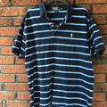 Polo By Ralph Lauren Shirts | Mens Polo By Ralph Lauren Navy Light Blue Striped | Color: Blue | Size: Xl