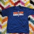 Adidas Shirts | New York Knicks Shooting Shirt - Used | Color: Blue/Orange | Size: M
