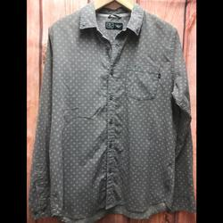 Nike Shirts | Nike Large Graywhite Long Sleeve Button Down | Color: Gray/White | Size: L