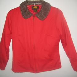 Free People Jackets & Coats | Free People Women'S Jeans Jacket Size Medium Euc | Color: Red | Size: M
