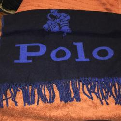 Polo By Ralph Lauren Accessories | Mens Polo Scarf | Color: Black/Blue | Size: Os