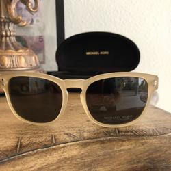 Michael Kors Accessories   New Michael Kors Sunglasses Gold Martin Square Uv   Color: Black/Gold   Size: Os